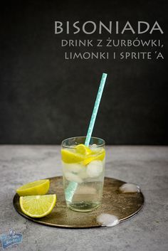 Bison Grass Vodka Cocktail/Drink z żubrówką