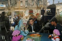 Photo by Carolyn Drake for National Geographic Picture of a restaurant scene in Uzbekistan