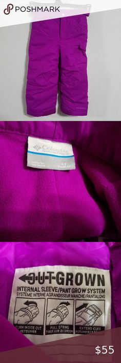 HEAD Jr Sweet Violet Purple Pink Girls Insulated Ski Mittens Winter Gloves NWT