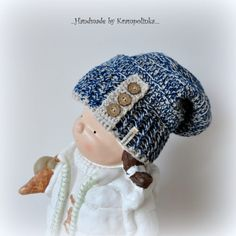 Easy slouchy hat in 5 sizes · Free Crochet Patterns Krampolinka Free Crochet, Crochet Hats, Slouchy Hat, Color Combinations, Crochet Patterns, Fashion, Knitting Hats, Color Combos, Moda