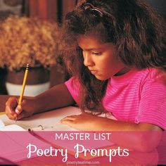 Looking to write a poem but not sure what to write about? Want choose some prompts to go along with your next Poetry Teatime? Whatever your writing needs may be, we've got you covered with this master list of all of our poetry prompts! Writing Prompts Poetry, Book Writing Tips, Poetry Books, Nonsense Poems, Dramatic Monologues, Found Poem, Strange Adventure, What To Write About, Character Map