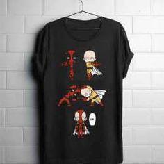 dragonball fusion deadpool Unisex T Shirt