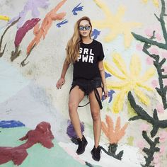 Two Songs Official Site   T's & Sweatshirts Inspired by Aimee & Dani Song - GRL PWR T-Shirt