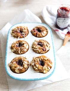 Healthy Muffin Recipes, Healthy Muffins, Whole Food Recipes, Breakfast Recipes, Cooking Recipes, Healthy Gourmet, Breakfast Muffins, Happy Healthy, Brunch Recipes