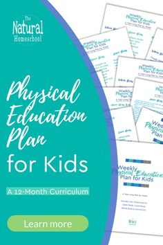 Physical education lessons use minimal amount of inexpensive materials that you already have at home, such as a ball for ease of preparation. #physicaleducationcurriculum #homeschoolphysicaleducation #homeschoolsubjects Physical Education Curriculum, Homeschool Curriculum, Homeschooling, Train Up A Child, School Subjects, Hands On Learning, Lesson Plans, Physics, Encouragement