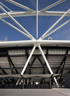 The 2012 London Olympics were based in this stadium at Stratford in east London, providing seating for 80,000 people.