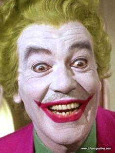 Cesar Romero as THE JOKER.....Batman ......