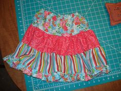 Cute twirl skirt...I know everyone is always asking how...well, here you go!