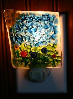 Summer's Day Night Light No. 714 by paulasstressart on Etsy