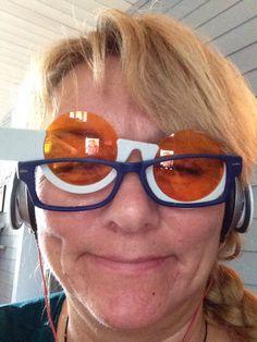 Filterbriller hjelper på , men vanskelig å få legeerklæring fra øyelege  for å få dette - og det selv om du har støtte fra Ergoterapeut , lege, Nav