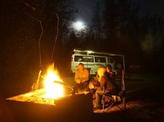 The Sun sees your body but the Moon sees your soul! Hopefully you shared the full moon with great people.  #fullmoon #vanlife #roadtrip #bonfire#vanlifediaries Photo: @alex_arseneault by go_van_com