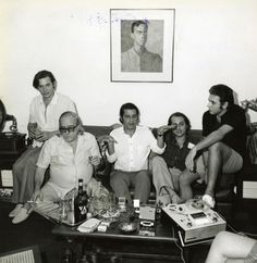 Tom Jobim,Vinicius de Moraes, Ronaldo Boscoli, Roberto Menescal y Carlos Lyra