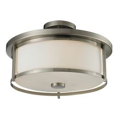 Found it at Wayfair - Savannah 3 Light Semi Flush Mount
