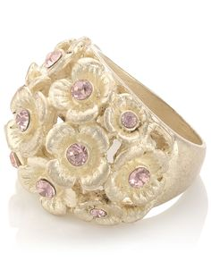 Flower Cluster Ring - Accessorize £10