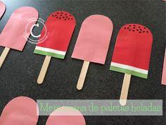 DIY-Memorama de paletas. Pasa un rato divertido con los peques jugando este creativo y refrescante memorama de paletas heladas! Para ver como hacerlo y descargar los diseños dale click al link => http://creativaofficial.com/diy-memorama-de-paletas-heladas/