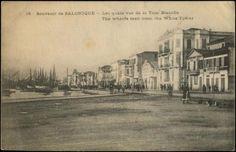 """""""Salonique. Les quais de la Tour Blanche"""" b PPC (Tchaoussi No.15), u. VF."""