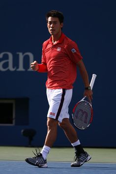 Kei Nishikori Photos - US Open Tennis: Day 8 - Zimbio