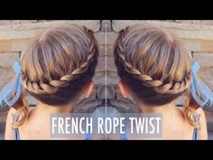 French Rope Twist How to Video Tutorial