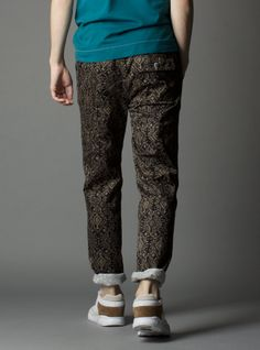 Couverture and The Garbstore - Mens - Garbstore - 1980s Aztec Print BMX Trousers