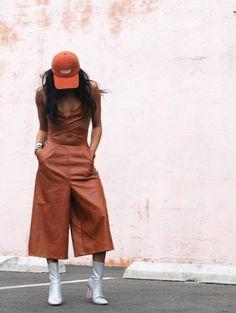 ecstasymodels:  Burnt OrangeHat: Knyew, Jumper: Missguided,… Visit GimmeYourStyle.com for more:)