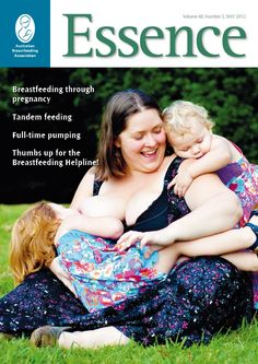 Cover of Australian #Breastfeeding Association magazine.