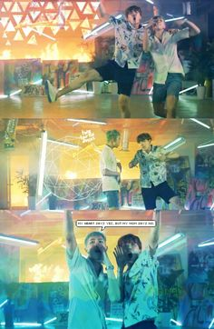 BTS / Rap Monster / J-Hope / Fire Wallpaper