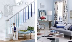 I want to do this to my stair railing!   Emily Henderson | TV Host and Designer of HGTV's Secrets from A Stylist, Season 5 Design Star winner