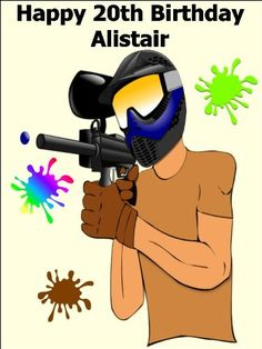 10 x 75 Paintball Gun Edible Image Cake Toppers Decorations Personalized on Rice Paper  Use Contact Seller link to send your personalized message >>> Read more  at the image link. (This is an Amazon affiliate link and I receive a commission for the sales and I receive a commission for the sales)
