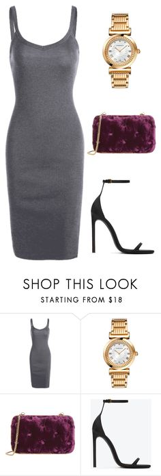 """""""Dress Set"""" by jeansfitright14 on Polyvore featuring Versace, Benedetta Bruzziches, Yves Saint Laurent, YSL and versace"""