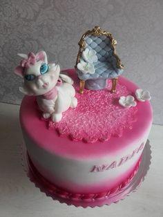 mačiatko aristokratka, torty pre deti, cakes for kids, Autorka: Tatjana, tortyodmamy.sk