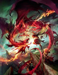 Whoa! That's a pretty cool dragon!