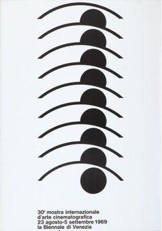 A.G. Fronzoni, 30a mostra internazionale d'arte cinematografica, 1969
