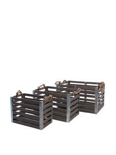 Skalny Set of 3 Rectangular Wood/Metal Crates, http://www.myhabit.com/redirect/ref=qd_sw_dp_pi_li?url=http%3A%2F%2Fwww.myhabit.com%2Fdp%2FB00K8PLWRM