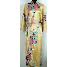 Pale blue Silk Bathrobe kimono bridesmaid bride mother of the ...