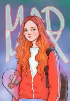 Stranger Things Mad Max by Pinko, Sadie Sink, fanart, fan art Lucas Stranger Things, Stranger Things Characters, Stranger Things Aesthetic, Stranger Things Funny, Stranger Things Netflix, Stranger Things Season, Stranger Things Fan Art, Mad Max, Deviantart