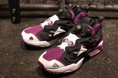 Reebok Pump Fury (Grape) - Plucked fresh from the street of Harajuku!