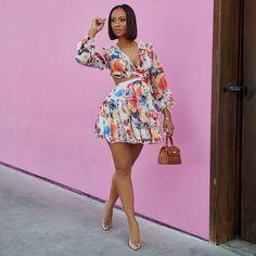 Boho Fashion Summer, Summer Fashion Trends, Black Girl Fashion, Summer Fashion Outfits, Fashion Looks, Casual Dresses, Summer Dresses, Grown Women, Lookbook