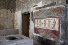 Pompeii ruins.