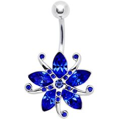 Blue Gem Starfish Belly Ring Ocean Blue Gem STARFISH Belly Ring (not that I'd ever get one, but it's still cool)Ocean Blue Gem STARFISH Belly Ring (not that I'd ever get one, but it's still cool) Belly Button Piercing Jewelry, Bellybutton Piercings, Piercing Ring, Tongue Piercings, Cartilage Piercings, Cute Belly Rings, Dangle Belly Rings, Belly Button Rings, Nose Rings
