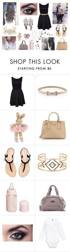 """Family exit with Darcy, Harry and Me"" by louisericoul on Polyvore featuring mode, Monsoon, Prada, Stella & Dot, Dolce&Gabbana, adidas, H&M et Disney"