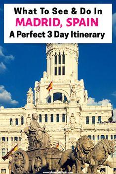 Spain Travel Guide, Europe Travel Tips, European Travel, Travel Guides, Backpacking Europe, Europe Destinations, San Miguel Market, Visit Madrid, Places In Spain