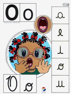 Recursos para el aula: Alfabeto Fonético Queremos enseñar como suenan las letras, las vocales y las consonantes. Enseñalas con estas Oral Motor, Reading Words, Abc Activities, Apraxia, Phonological Awareness, Letter Recognition, Speech And Language, Speech Therapy, Phonics