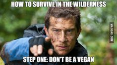 """Man vs Wild"" in a nutshell"