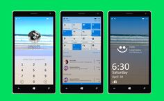 Windows 10 Redesing for phones on Behance