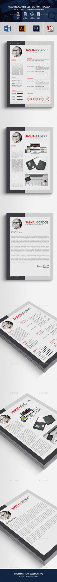 Word Resume CV Template