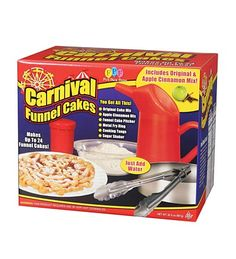 how to make carnival funnel cakes