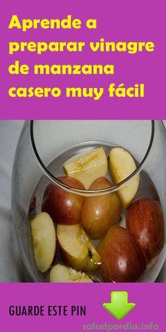Aprende a preparar vinagre de manzana casero muy fácil - Salud por Día