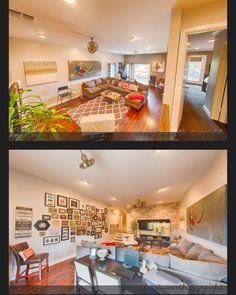 Haven, Los Angeles, San Pedro, interior design, interior designer, DIY, hgtv, family room, wallpaper, modern, retreat, www.style-bites.com