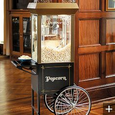 Old Time Popcorn Popper Accessories At Home Movie Theaterhome