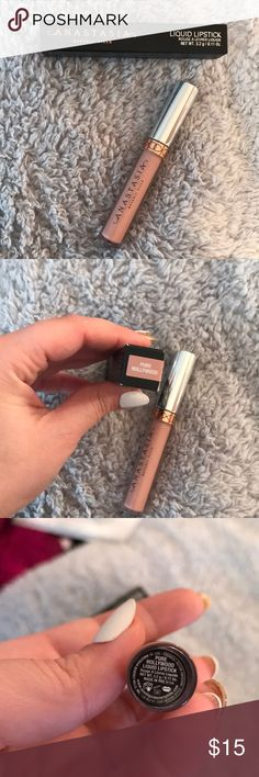 Anastasia Beverly Hills Pure Hollywood lipstick used once Anastasia Beverly Hills Makeup Lipstick